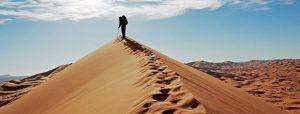 Trekking désert